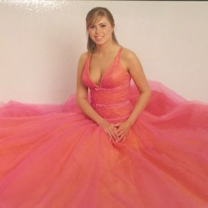 Formal Prom special occasion gown - Worn once!